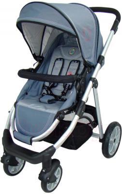 Детская универсальная коляска Pierre Cardin PS687 2 в 1 (серый) - прогулочный блок