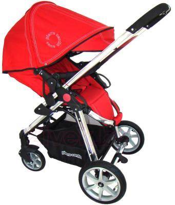 Детская универсальная коляска Pierre Cardin PS880 2 в 1 (красный) - прогулочный блок