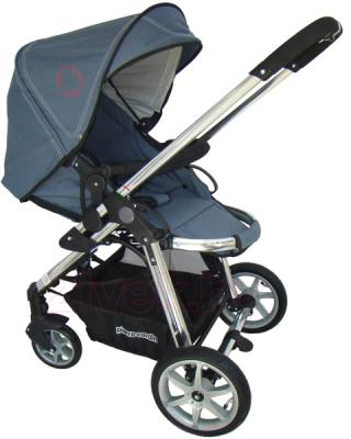 Детская универсальная коляска Pierre Cardin PS880 2 в 1 (серый) - прогулочный блок