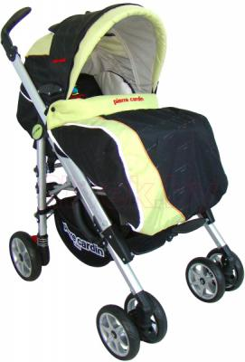 Детская универсальная коляска Pierre Cardin PS693B 2 в 1 (зеленый) - общий вид