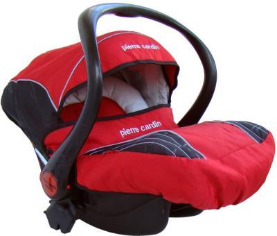 Детская универсальная коляска Pierre Cardin PS693B 2 в 1 (красный) - автокресло