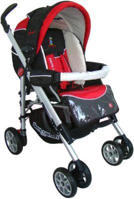 Детская универсальная коляска Pierre Cardin PS693B 2 в 1 (красный) - общий вид