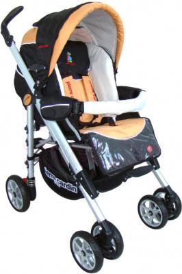 Детская универсальная коляска Pierre Cardin PS693B 2 в 1 (оранжевый) - прогулочный блок