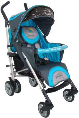 Детская прогулочная коляска Pierre Cardin PS538 (синий) - общий вид