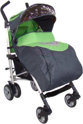 Детская прогулочная коляска Pierre Cardin PS538 (зеленый) - с чехлом для ног