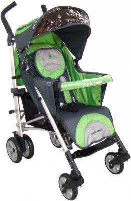 Детская прогулочная коляска Pierre Cardin PS538 (зеленый) - общий вид