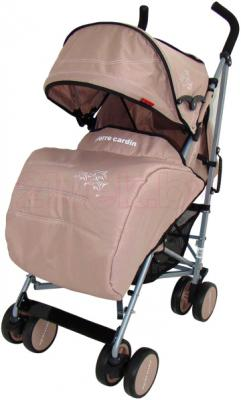 Детская прогулочная коляска Pierre Cardin PS568 (бежевый) - с чехлом на ножки