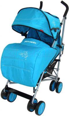 Детская прогулочная коляска Pierre Cardin PS568 (синий) - с чехлом на ножки