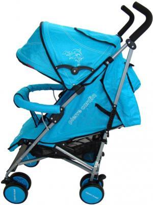 Детская прогулочная коляска Pierre Cardin PS568 (синий) - вид сбоку