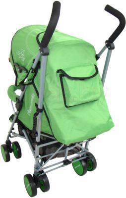 Детская прогулочная коляска Pierre Cardin PS568 (зеленый) - вид сзади