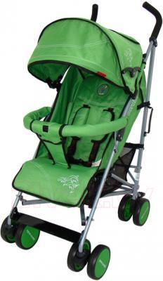 Детская прогулочная коляска Pierre Cardin PS568 (зеленый) - общий вид