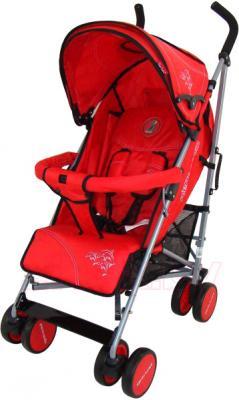 Детская прогулочная коляска Pierre Cardin PS568 (красный) - общий вид