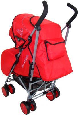 Детская прогулочная коляска Pierre Cardin PS568 (красный) - вид сзади