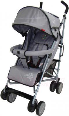 Детская прогулочная коляска Pierre Cardin PS568 (серый) - общий вид