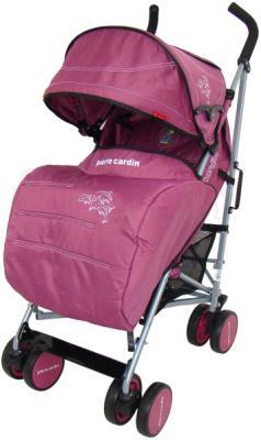Детская прогулочная коляска Pierre Cardin PS568 (фиолетовый) - с чехлом для ног