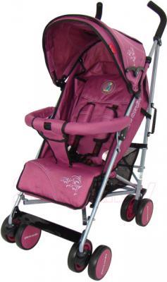 Детская прогулочная коляска Pierre Cardin PS568 (фиолетовый) - общий вид