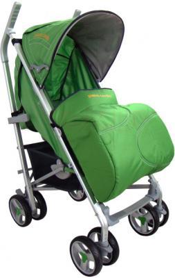 Детская прогулочная коляска Pierre Cardin PS586AL (зеленый) - с чехлом для ног