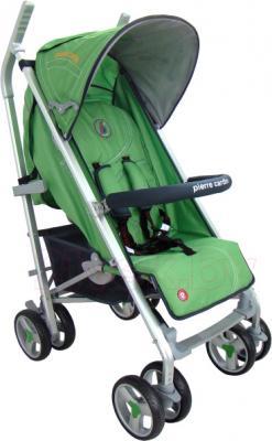 Детская прогулочная коляска Pierre Cardin PS586AL (зеленый) - общий вид
