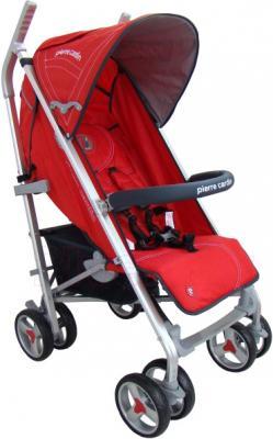 Детская прогулочная коляска Pierre Cardin PS586AL (красный) - общий вид