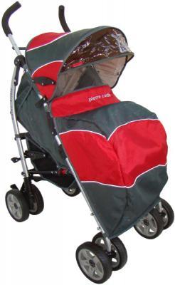 Детская прогулочная коляска Pierre Cardin PS627B (красный) - с чехлом для ног