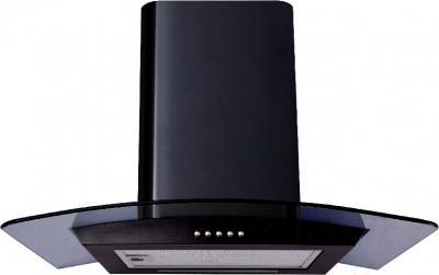 Вытяжка купольная Backer QD60A-G6L120 (50, черный глянец/темное стекло) - общий вид