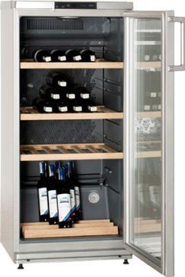 Винный шкаф ATLANT ХТ 1007-000 - внутренний вид
