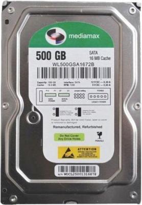 Жесткий диск Mediamax WL500GSA - общий вид