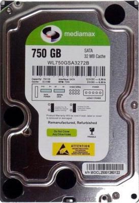 Жесткий диск Mediamax WL750GSA - общий вид