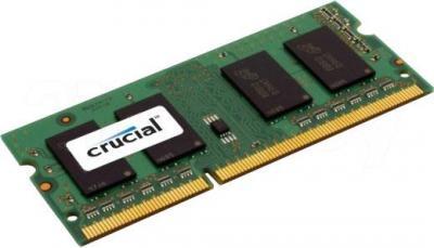 Оперативная память DDR3 Crucial 8GB DDR3 SO-DIMM PC3-12800 (CT102464BF160B) - общий вид