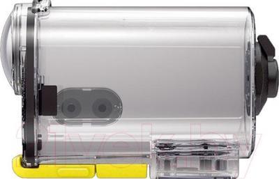 Водонепроницаемый корпус для экшн-камеры Sony SPK-AS2 - вид сбоку