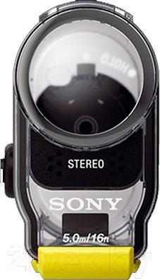 Водонепроницаемый корпус для экшн-камеры Sony SPK-AS2 - вид спереди