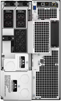 ИБП APC Smart-UPS SRT 8000VA 230V (SRT8KXLI) - вид сзади