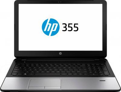 Ноутбук HP 355 (J0Y65EA) - фронтальный вид