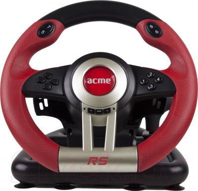 Игровой руль Acme 870860 (+ педали) - фронтальный вид