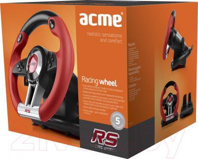 Игровой руль Acme 870860 (+ педали) - коробка