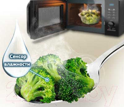 Микроволновая печь Samsung MS23H3115FK/BW - презентационное фото 4