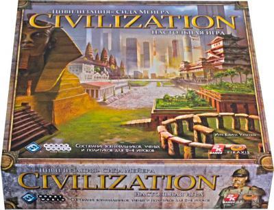 Настольная игра Мир Хобби Цивилизация Сида Мейера 1112 (3-е русское издание) - общий вид