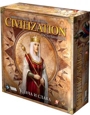 Настольная игра Мир Хобби Цивилизация Сида Мейера. Удача и Слава - общий вид