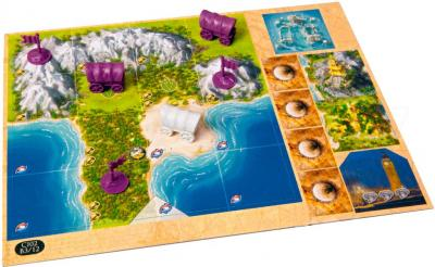 Настольная игра Мир Хобби Цивилизация Сида Мейера. Удача и Слава - игровое поле