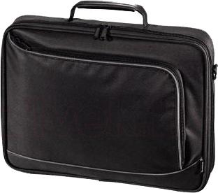 Сумка для ноутбука Hama Sportsline Bordeaux 101093 (Black) - общий вид