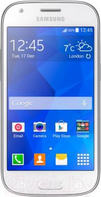 Смартфон Samsung Galaxy Ace Style / G357FZ (белый) - общий вид