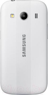 Смартфон Samsung Galaxy Ace Style / G357FZ (белый) - вид сзади