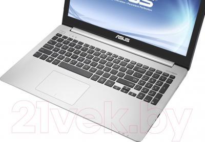 Ноутбук Asus K551LN-XX282D - клавиатура