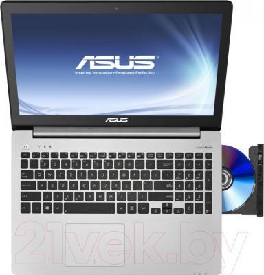 Ноутбук Asus K551LN-XX312D - вид сверху