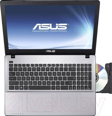 Ноутбук Asus X550LNV-XO233D - вид сверху