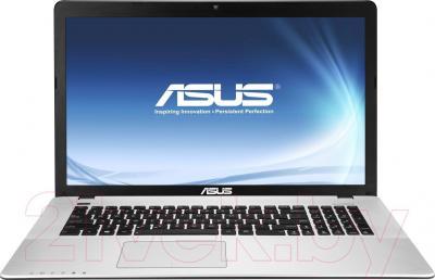 Ноутбук Asus X750JN-TY033D - фронтальный вид