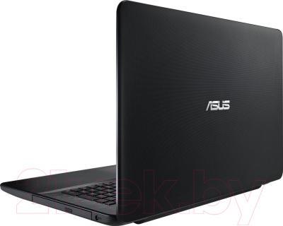 Ноутбук Asus X751LA-TY002D - вид сзади
