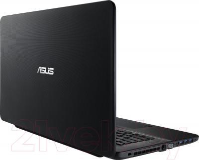 Ноутбук Asus X751LD-TY029D - вид сзади