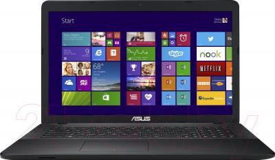 Ноутбук Asus X751LD-TY076D - фронтальный вид