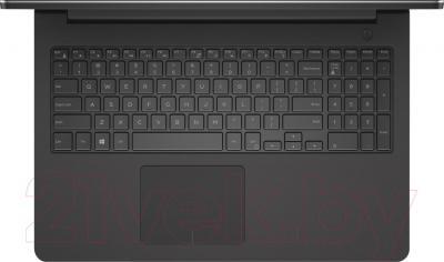 Ноутбук Dell Inspiron 17 (5748-1783) - вид сверху